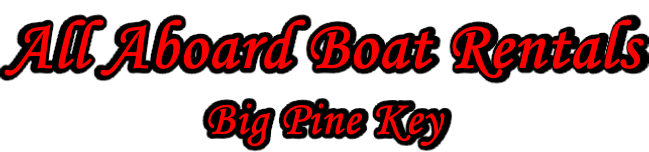 All Aboard Boat Rentals Big Pine Key